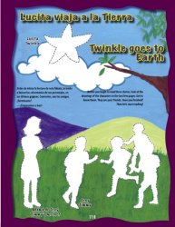 Lucita viaja a la tierra-Twinkle goes to Earth